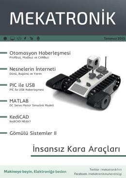 Temmuz 2015 - Mekatronik Mühendisliği