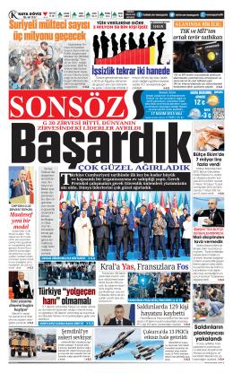 3 - Sonsöz Gazetesi