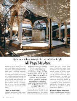 Şubat/2015 - Ali Paşa Meydanı