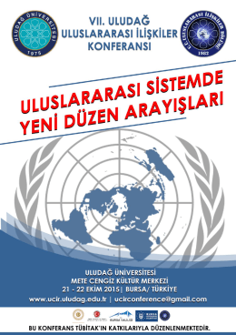 clik here - Uludag Conference on International Relations