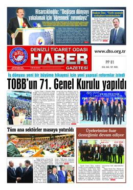 Gazete 72 - Denizli Ticaret Odası