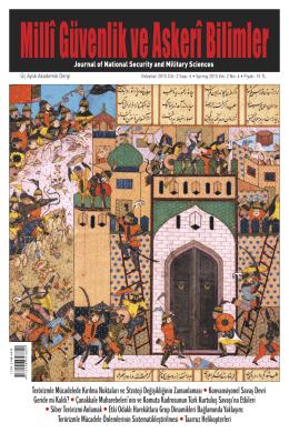 İçindekiler - Millî Güvenlik ve Askeri Bilimler Akademik Dergisi