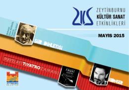 E-Dergi Mayıs 2015 - Zeytinburnu Kültür Sanat