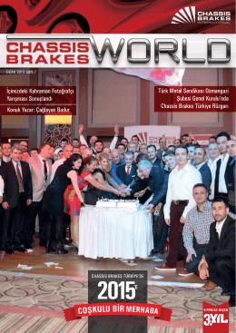 Sayı 7 - 2015 - Ocak - Chassis Brakes International Türkiye