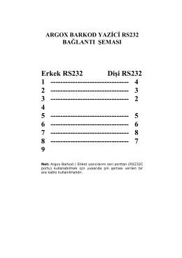 Erkek RS232 Dişi RS232 1 - Net Bilgi Teknolojileri