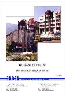 BURSA SAAT KULESİ