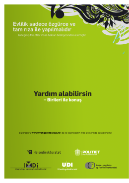 Yardım alabilirsin - Trondheim kommune