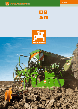 Amazone D9-AD Doküman