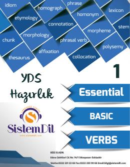 YDS Basic Verbs-1 - Sistem Dil Eğitim