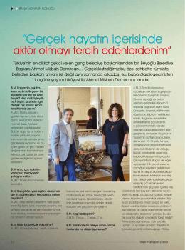 """""""Gerçek hayatın içerisinde aktör olmayı tercih edenlerdenim"""" / Ahmet"""