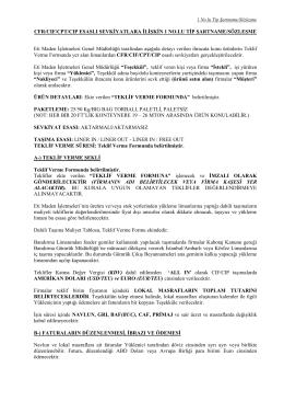 2015-33-1. Hafta Teklif İsteme Mektubu 4 Sayfa PDF
