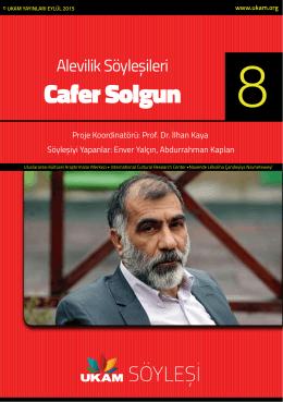 Cafer Solgun - Uluslararası Kültürel Araştırmalar Merkezi