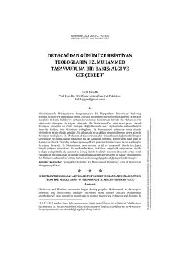 Page 1 bilimname XXIX, 2015/2, 141