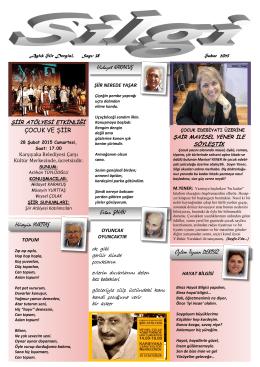 SİLGİ,Sayı 38 (2.2015)