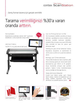 Contex Yeni ScanStation Broşür