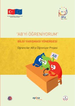 """""""AB`Yİ ÖĞRENİYORUM"""" - Kırıkkale Milli Eğitim Müdürlüğü"""