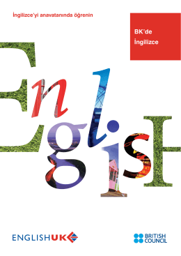 BK`de İngilizce