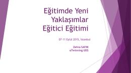 Öğrenme Aktiviteleri - EYY Eğitimi - 171 İstanbul
