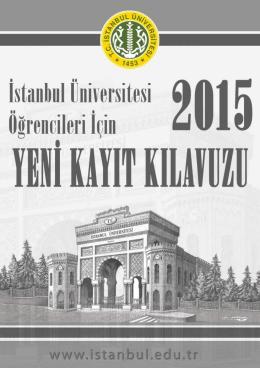 2015 Yeni Kayıt Kılavuzu
