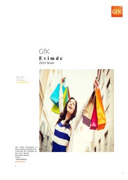 GfK Tüketici Paneli E- Bülten 2015 Mayıs sayısı için tıklayınız