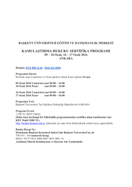 Kamulaştırma Hukuku Sertifika Programı - bedam