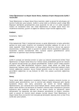 Ardahan Üniversitesi ZyXEL Çözümleri ile Tüm Kampüsünde Ağ