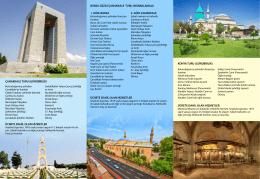 Çanakkale ve Konya Kültür Turları Broşürümüz