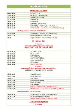 Program Detayları