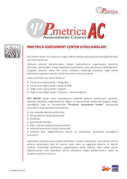 Pmetrica AC broşür