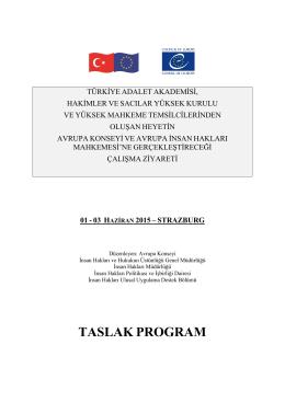 Gündem - Türkiye Adalet Akademisi