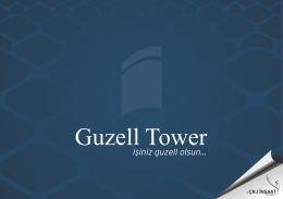 E-katalog - Guzell Tower