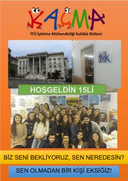 Kaçma – 2015 Hoşgeldin Kaçması - İTÜ İşletme Mühendisliği Kulübü