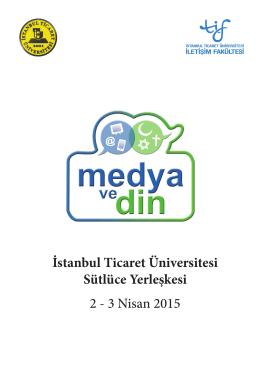 Program için tıklayın - İstanbul Ticaret Üniversitesi