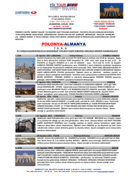 POLONYA-ALMANYA