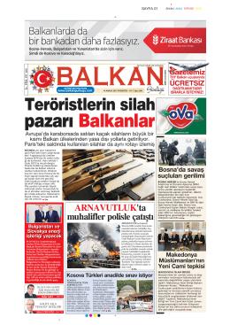 pazarı Balkanlar