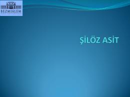 ŞİLÖZ ASİT