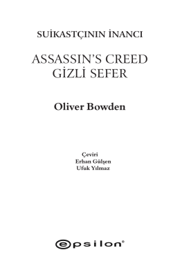 assassın`s creed gizli sefer
