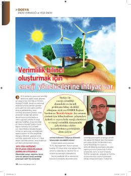 enerji yöneticilerine ihtiyaç var - EYODER | Enerji Verimliliği ve
