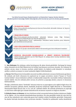 Dosyayı İndir - Ankara Üniversitesi Teknokent