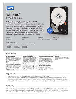 WD Blue PC Hard Drive Series Distribution