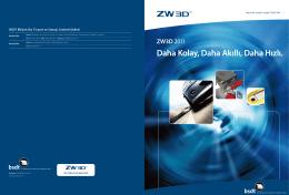 ZW3D - BSDT