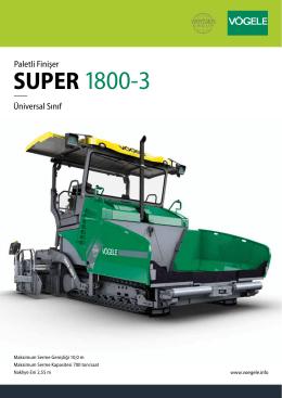 SUPER 1800-3