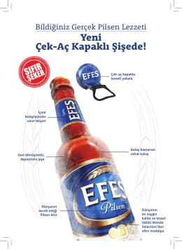 Efes Pilsen Q&A A5.indd - Efes Pilsen E