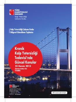Kronik Kalp Yetersizliği Tedavisinde Güncel Konular İstanbul