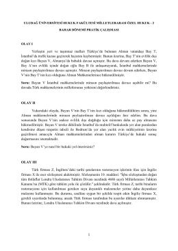 Yerleşim yeri ve taşınmaz malları Türkiye`de bulunan Alman