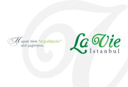 e-katalog - La Vie İstanbul