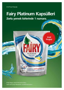 Fairy Platinum Kapsülleri