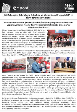Vali Sabahattin Çakmakoğlu Ortaokulu ve Mimar Sinan Ortaokulu