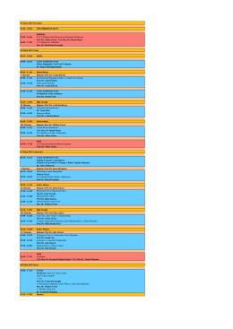 13:00 - 18:00 KURSLAR 15:00 - 16:00 P. R. P (Platelet Rich Plasma