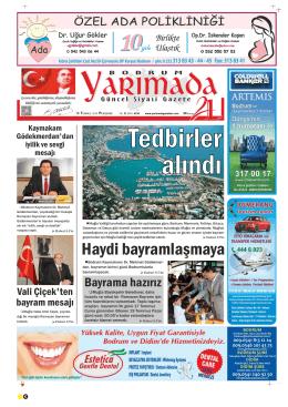 perşembe - Yarımada Gazetesi
